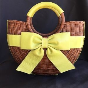 Isabella Fiore basket purse